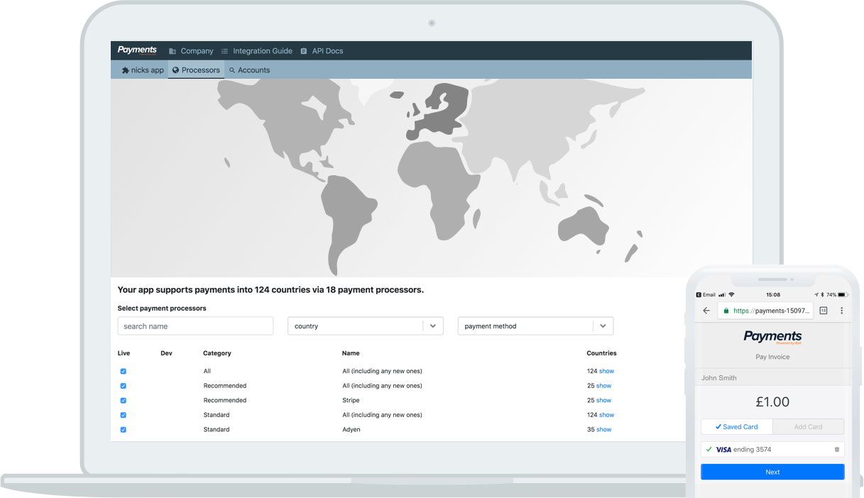 payments api, Shuttle Discovery